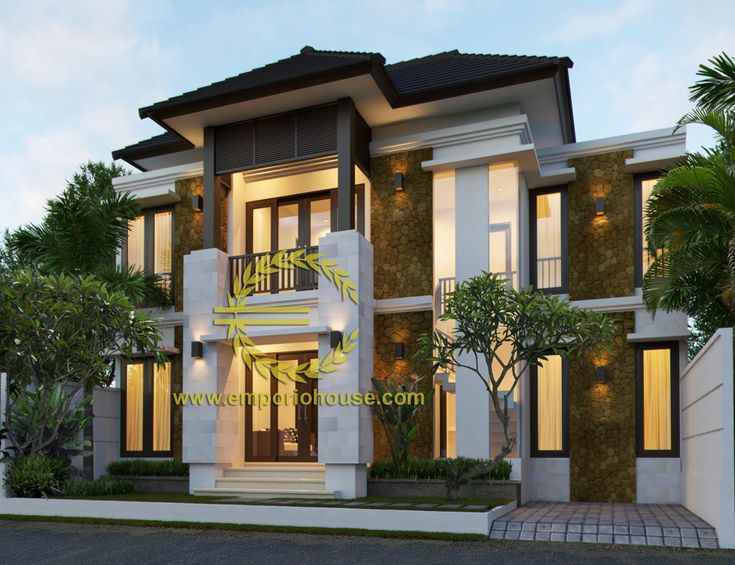 Desain Rumah 2 Lantai 4 kamar Lebar Tanah 12 meter dengan ukuran Tanah 1 are/100m2