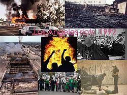 On This Day - 1992 - Riots Erupt in Los Angeles Following Police Acquittal In Rodney King Case