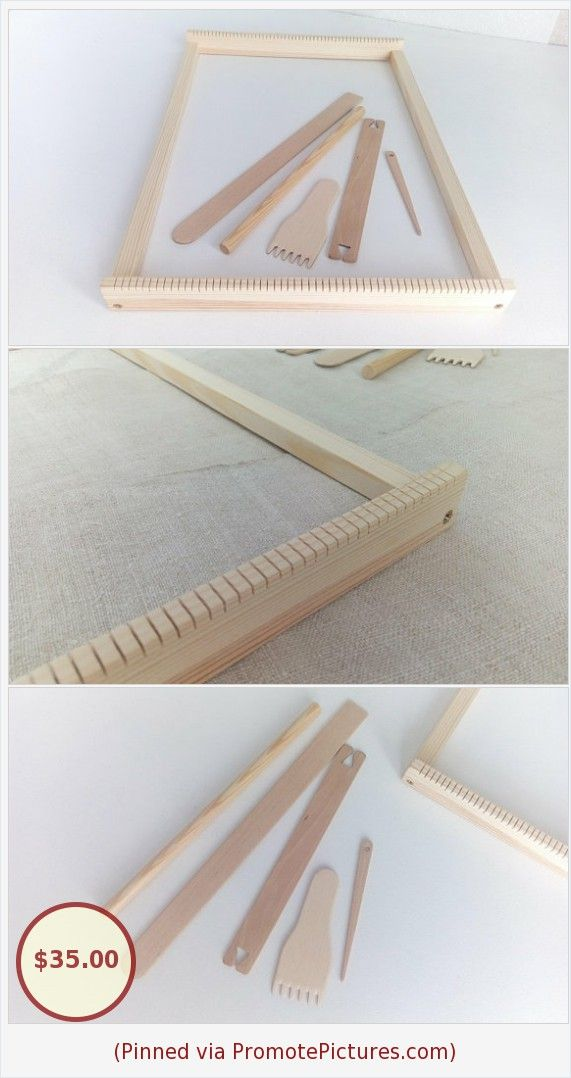 c1f39516a2 Large Weaving Loom Kit for Beginners