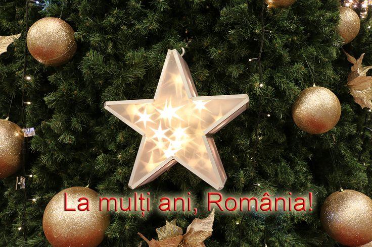 A venit și această lună magică, în care ne gândim la realizările din timpul anului și la cei dragi. La mulți ani, români! Vă urez să aveți o voință puternică pentru a face cât mai multe pentru voi și pentru țară în 2017!