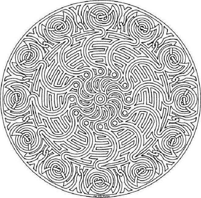 mandala coloring pages free online - Mandala Coloring Pages Free Online