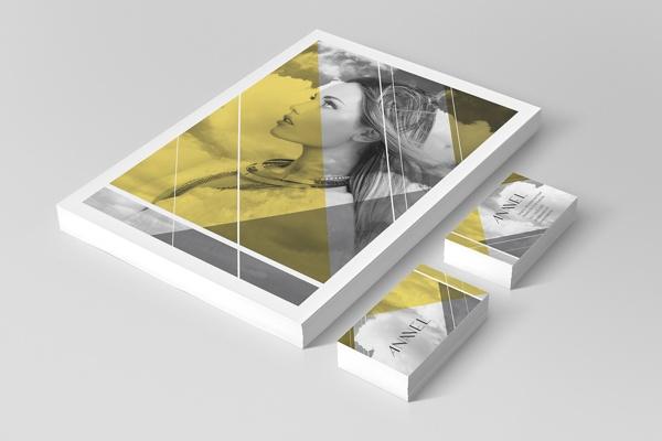 Anavel Brand by Slated Caramel Studio , via Behance