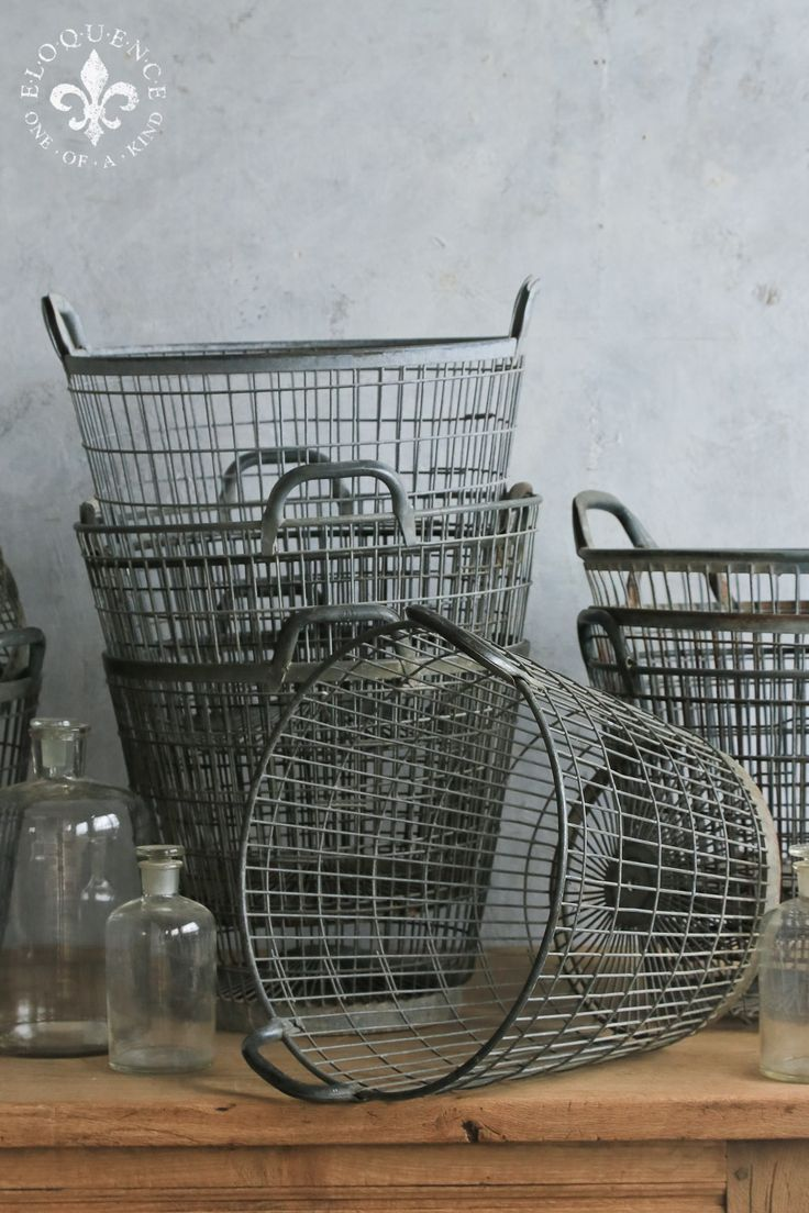 138 best Wire Baskets images on Pinterest | My house, Baskets and ...