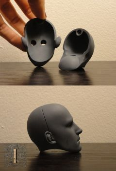 Kouros headcap by illuminateddoll