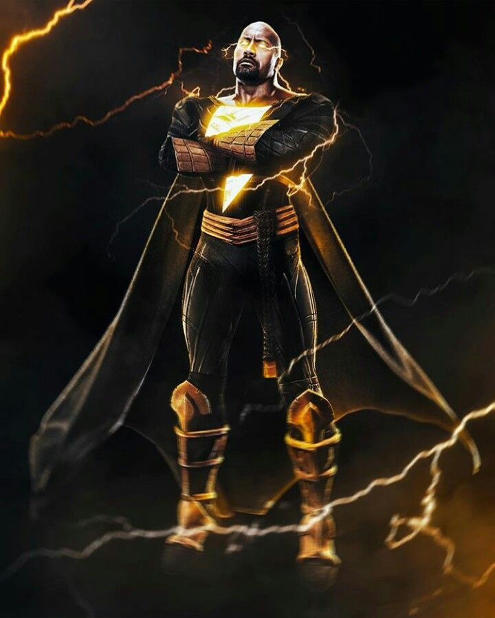 Dwayne The Rock Johnson as Black Adam!