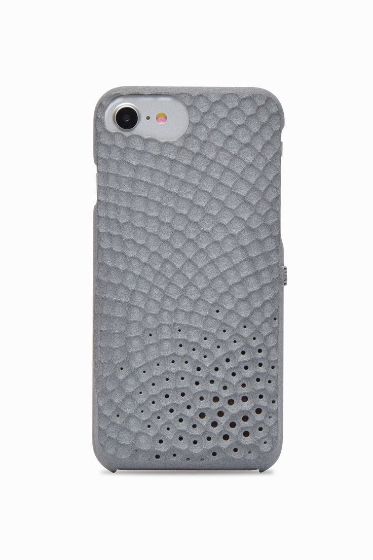 Personalize your iPhone with your favorite fragrance: Freshfiber Stonework Perfume Case in Grey | From Freshfiber.com