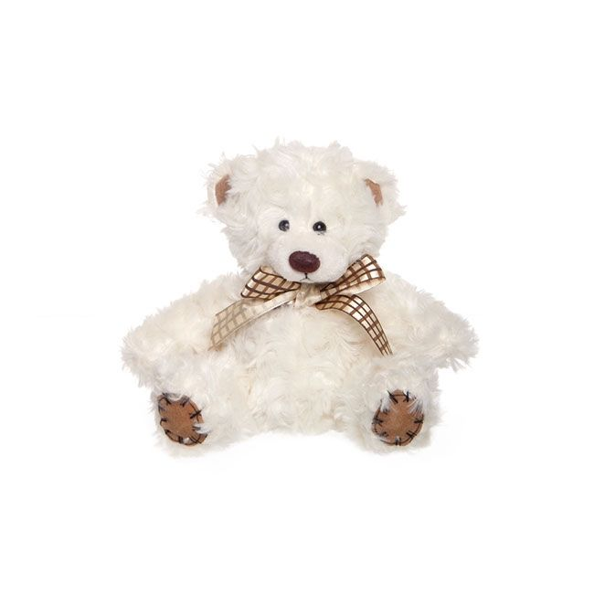 igiftFRUITHAMPERS.com.au - Teddy Bear Charlie 14cm Cream, $6.99 (http://www.igiftfruithampers.com.au/copy-of-white-teddy-bear-bobby/)