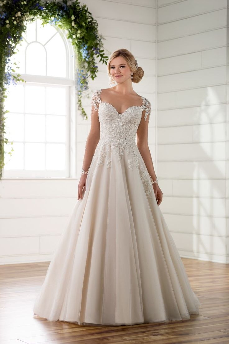 Featured Dress: Essense of Australia; Wedding dress idea.