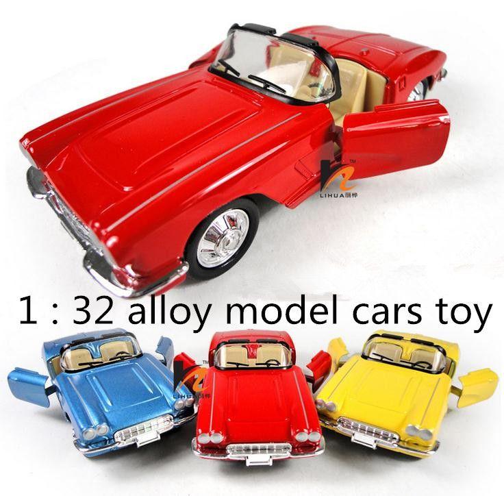 Классические игрушки! 1: 36 Сплава Капот ретро классические автомобили вытяните назад открыть дверь модели автомобилей игрушки, детские любимые, бесплатная доставка