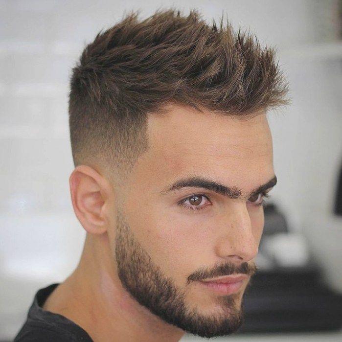 Short Haircut Styles For Men 2018 Jpg 699 699 Pixels Mens Haircuts Short Short Hair Hairstyle Men Thick Hair Styles