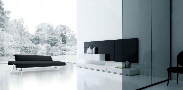 Modern Minimalist Living Room Ideas Black and White Minimalist