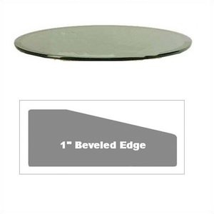 Grace Collection 24u0027u0027 Round Glass Table Top. Whiskey Barrel Project.