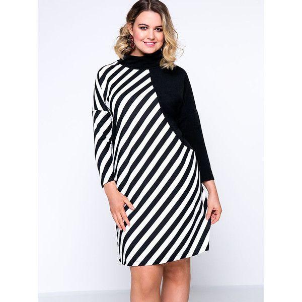 Top 25+ best Striped plus size dresses ideas on Pinterest   Curvy ...