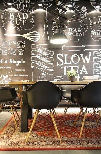 Stan & Co Coffee, Utrecht | Netherlands; love the chalkboard