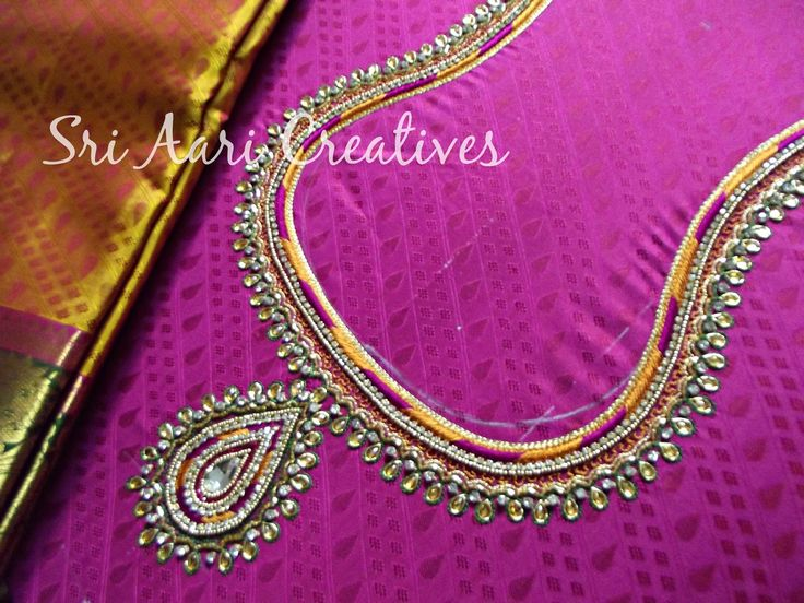 Aari Embroidery, Aari Embroidery Designs, Hand Embroidery, Embroidery, Bridal Collections, Blouse Designs, Terracotta Jewellery, Advance Aari