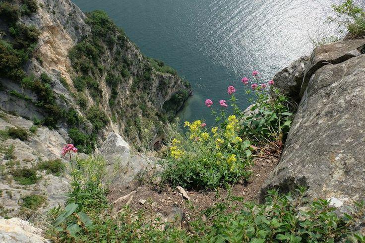 Qui sotto il fiume Brasa raggiunge il lago