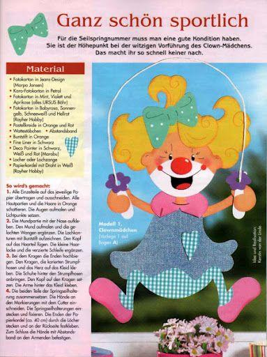 Fensterbilder Clowns Manege frei! - jana rakovska - Álbumes web de Picasa