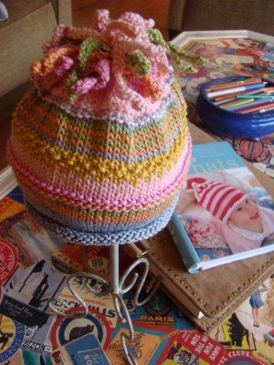 Tutorial on how to increase size of hat from infant to older child to adult
