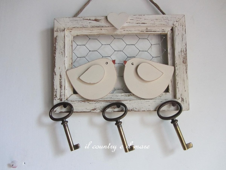 cuelga llaves -- THis could work for kitchen cupboards