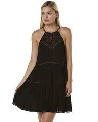 SOMEDAYS LOVIN MAGGIE WOMENS DRESS - BLACK
