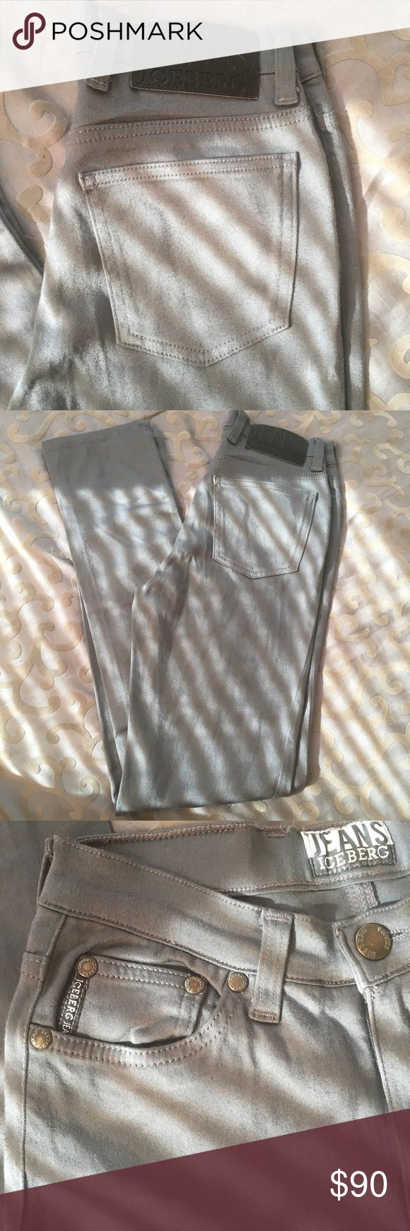 Iceberg Jeans Iceberg Jeans 80% viscosa 17% poliammide 03% Elastan size 26 made in Italy #iceberg #jeans #designer they are chic and stylish . Great Condition want to get rid of them asap Iceberg Jeans Straight Leg