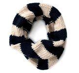 Navy tube scarf