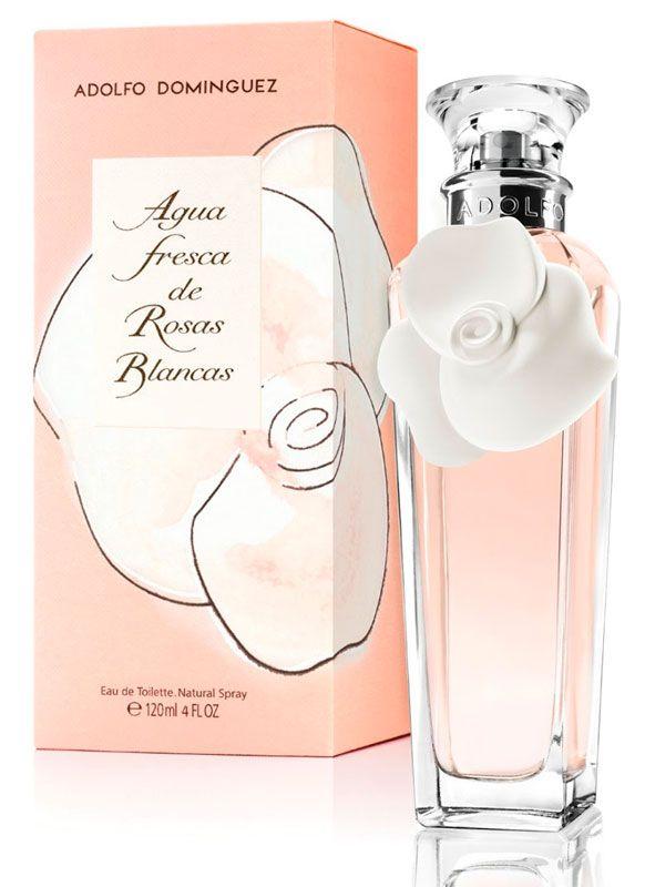 Agua Fresca Rosas Brancas - Adolfo Dominguez Eau Toilette - Agua Fresca Rosas Brancas - A nova fragrância é uma nova interpretação da famosa edição Agua Fresca de Rosas a partir de 1995.