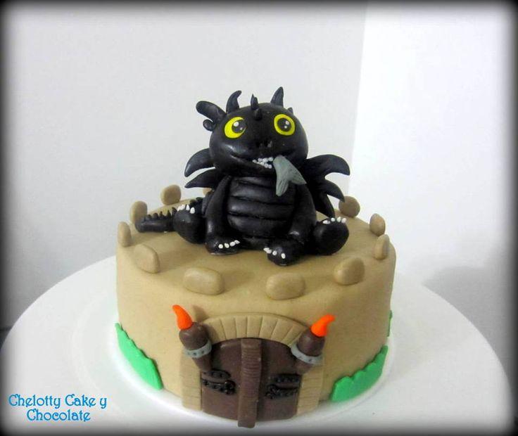 Ponqué de Cómo entrenar a tu dragón. de Chelotty Crema y Chocolate FB: https://www.facebook.com/144912722373902/photos/pb.144912722373902.-2207520000.1435536200./324761577722348/?type=3&theater