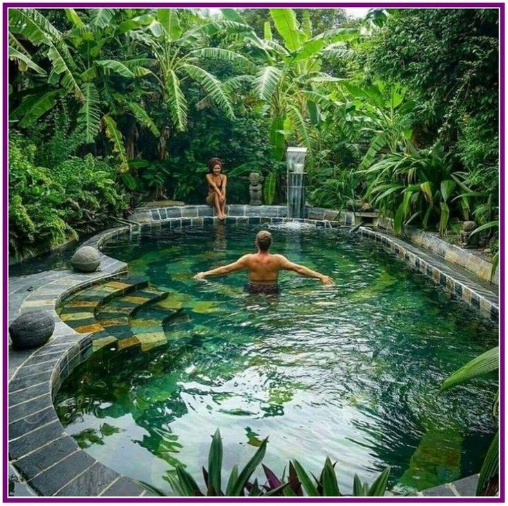 27+ Schöne Garten-Design-Ideen für Swimmingpools