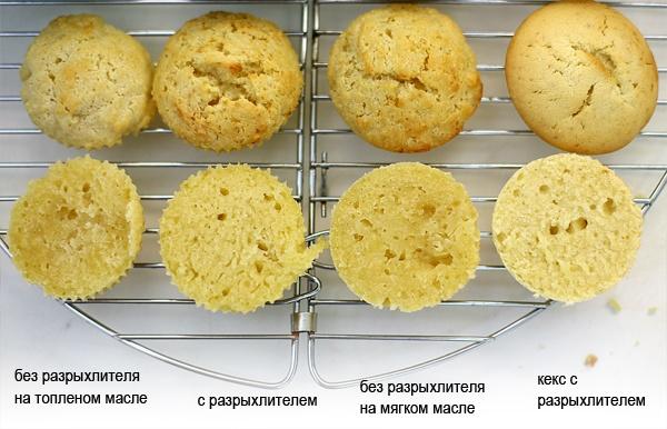 Рецепт печенья с разрыхлителем