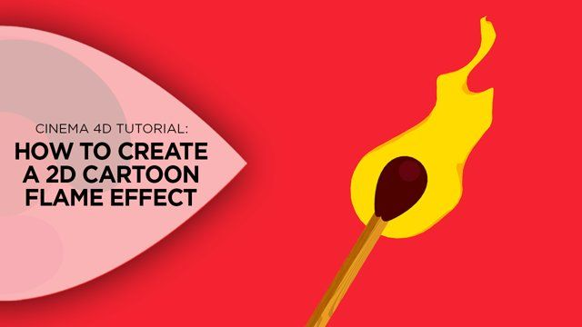 In this tutorial, I'll show you how to create cool, stylized, cartoon style 2D fire effects using just Cinema 4D.  We'll start out by going over how to set up your scene to get the flat 2D shading using the Cel Shader (http://www.eyedesyn.com/creating-an-illustrative-2d-style-with-3d-objects-in-cinema-4d/) as well as how to set up your camera & lighting.  Then I'll show you how to create the flame using a bunch of techniques that I also go over in my Cel Shader Paint Strokes tutorial…