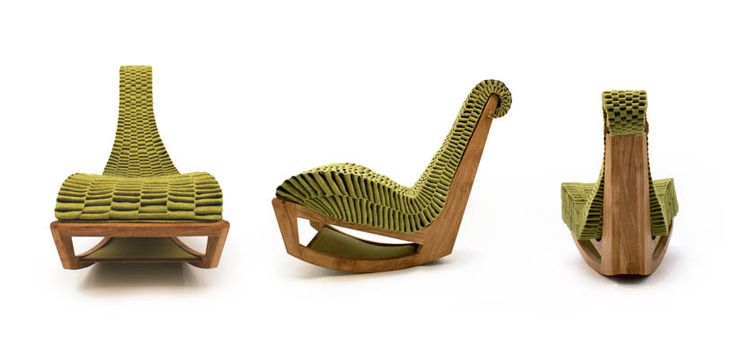 Enrico gondim follows biomimicry principles for the ivy for Product design chair