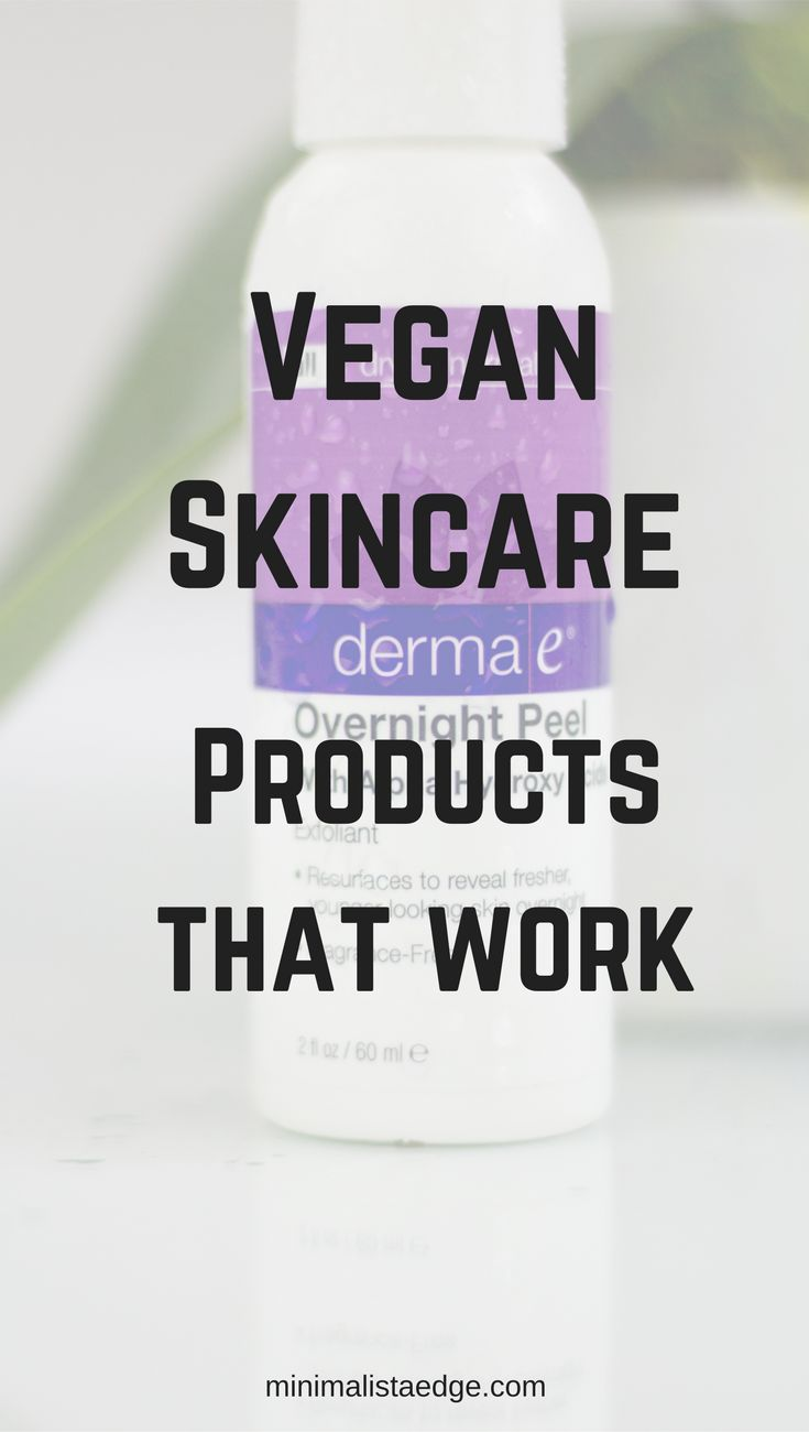 Derma E product review, the overnight peel. Vegan Skincare | Vegan skincare products | Derma E