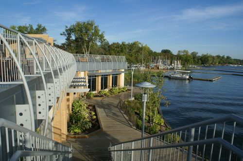 East Grand Rapids, MI : View of Reeds Lake from the Community Center