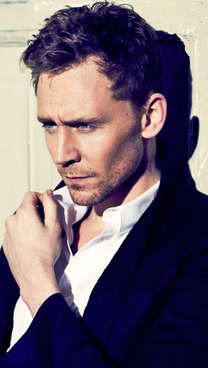 Tom Hiddleston. For you, @Jessica Treadway . I'm going to share all stunning pictures of him with you.