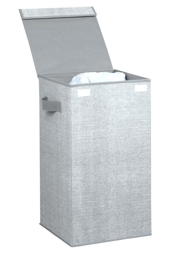 Agreeable Grey Laundry Hamper Arts Idea Grey Laundry Hamper And
