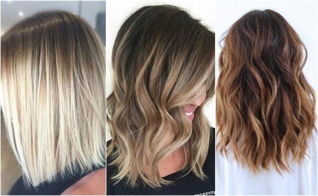 Modne cięcia dla włosów średnich