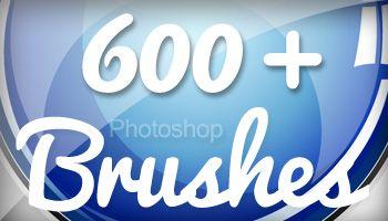 600 Grunge Photoshop Brushes