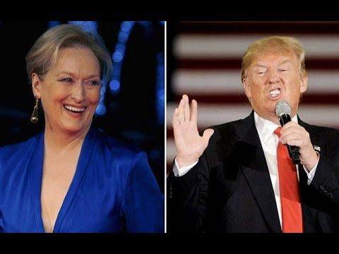 Meryl Streep and  Hollywood vs.  Trump
