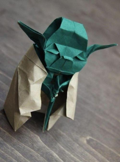 yoda origami hi hi