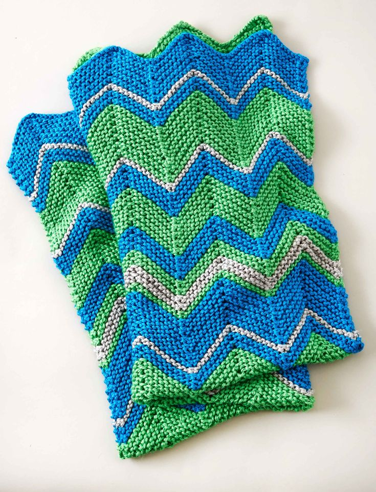 Easy Zig Zag Knitting Pattern : Images about crochet afghans on pinterest red