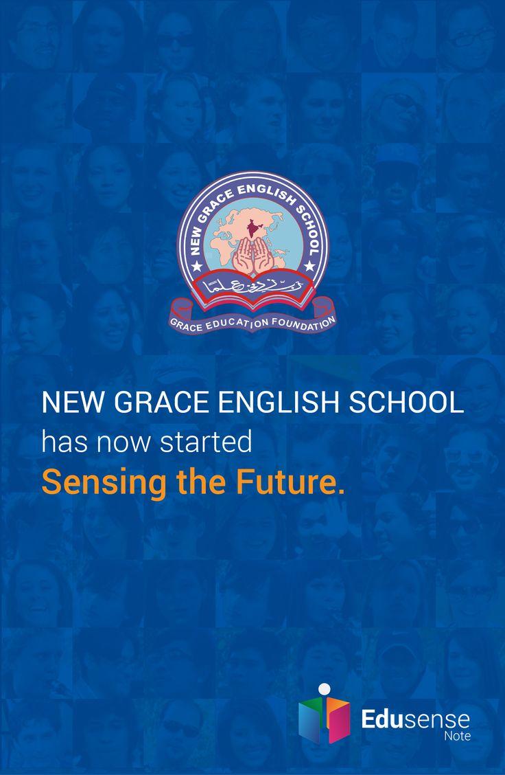New Grace English School is experiencing the future with Edusense Note #EdusenseNote