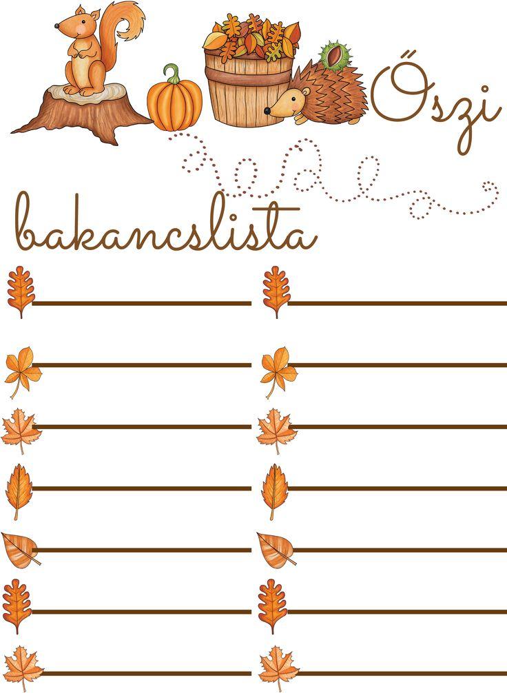 Ne engedd, hogy beszippantson a munka, tanulás, iskola, mindenkit más persze - élvezd az ősz színeit, a fahéjas alma illatát - vagy amit szeretsz :)