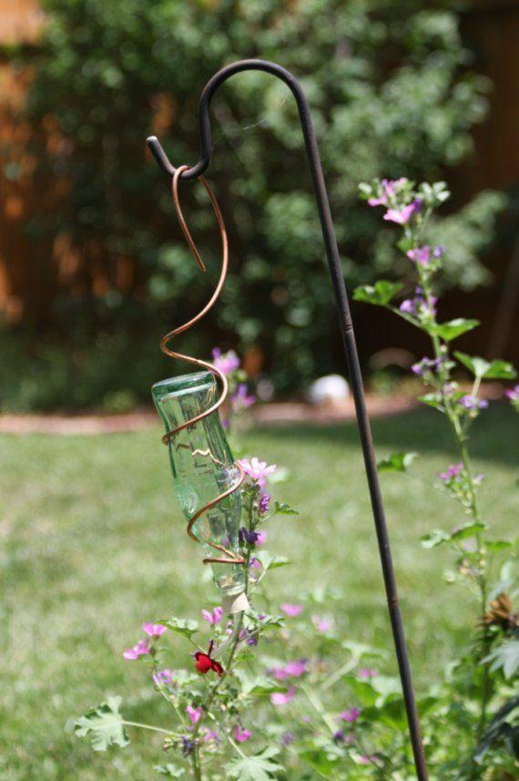 Coke Bottle Hummingbird Feeder