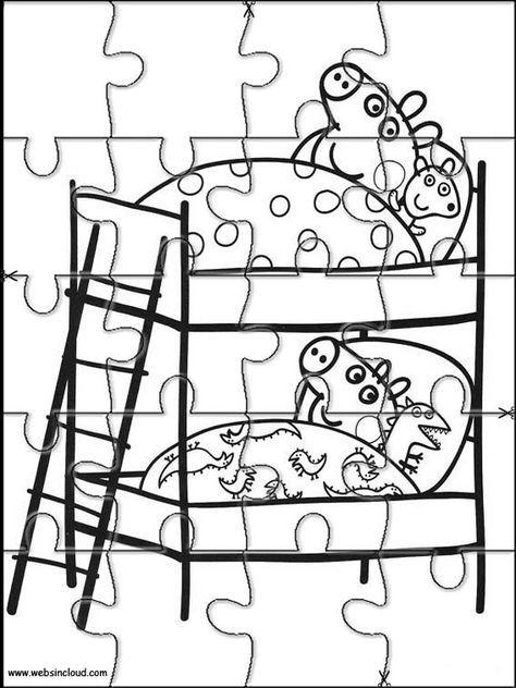 Aktivit 228 Ten F 252 R Kinder Puzzlespiele Peppa Pig 5