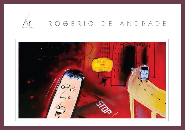 Rogério de Andrade To see more of his work please visit : bit.ly/AFAShome  For more info, contact Chanel at 0721888514 #ArtForArtsSake #RogériodeAndrade #art #culture