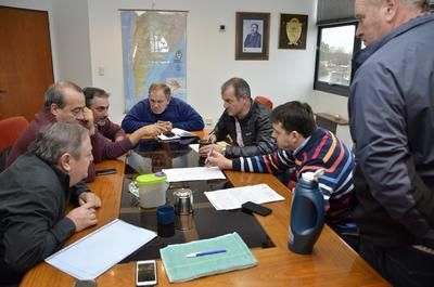 Intendentes del norte provincial se reunieron con autoridades de Vialidad Provincial