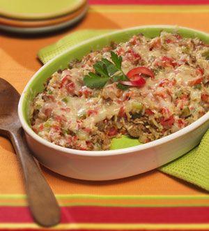Morningstar Farms® Spanish Rice Casserole