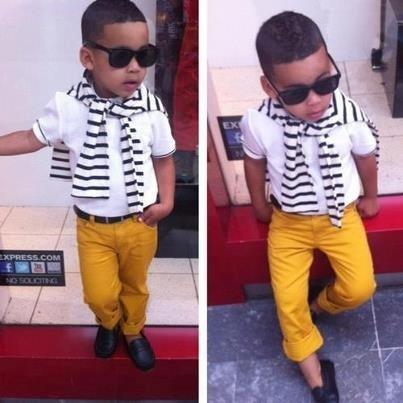 Chino Mustard Yellow Pants White Polo Shirt Black And