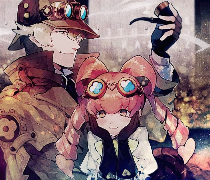 Sherlock Holmes and Iris Watson (With images) Anime